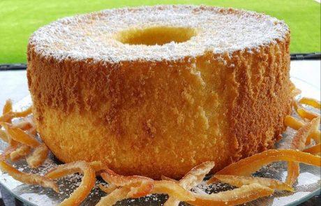 עוגת תפוזים לשבירת הצום